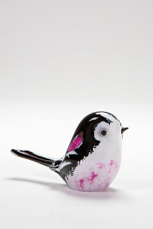 Long Tail Tit handmade at Langham Glass