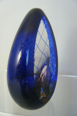 Handmade glass limited edition Lost In Time paperweight
