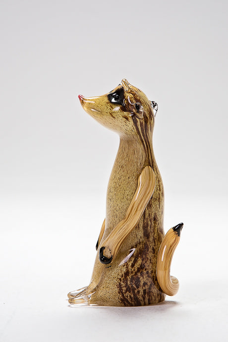 Cute Meerkat, made in Norfolk at Langham Glass