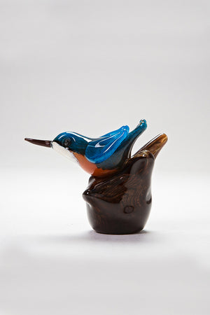 Nuthatch handmade in Norfolk at Langham Glass