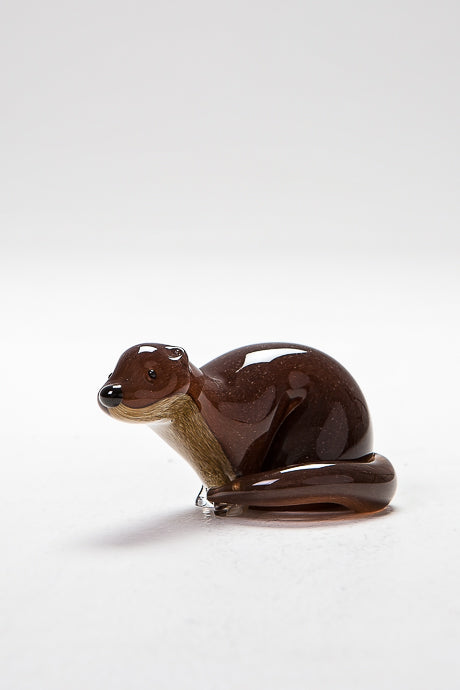 Otter, handmade at Langham Glass, Norfolk