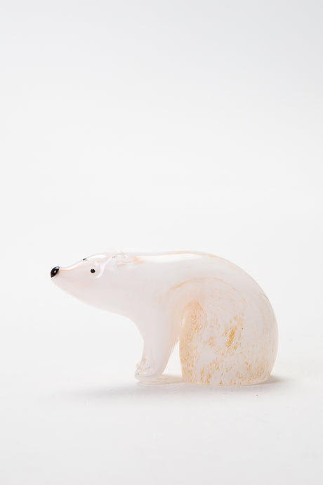Polar Bear, handmade in Norfolk at Langham Glass