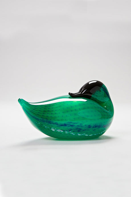 Resting Duck handmade at Langham Glass