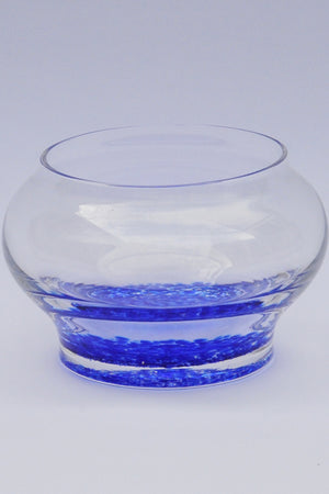 Forever into glass cremation bowl