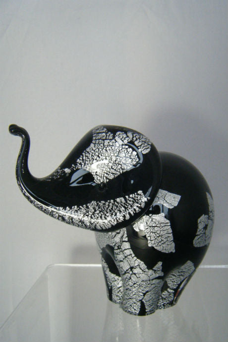 Handmade glass elephant