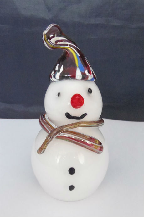 Langham Glass Christmas Snowman
