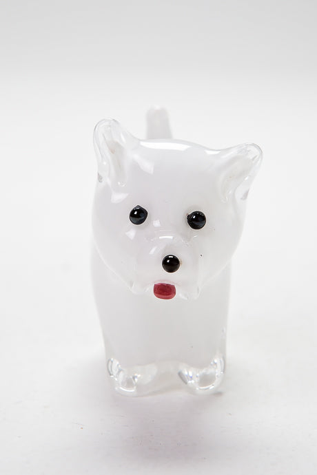 Handcrafted Westie, made in Norfolk by Langham Glass