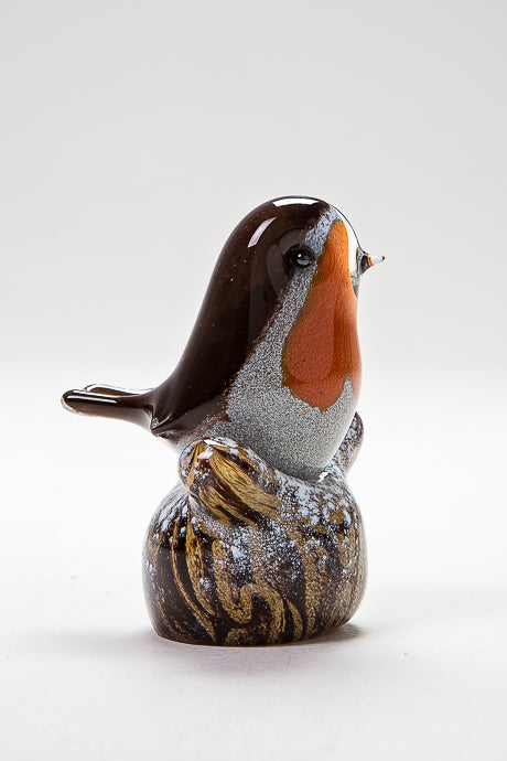 Winter Robin handmade at Langham Glass