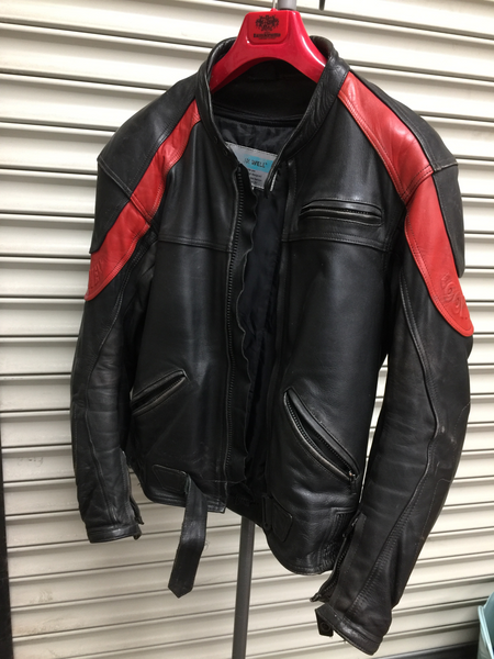 Lookwell Leather biker jacket size XL