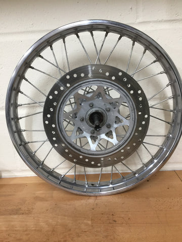 Takasago 18x1.60 spoked front wheel