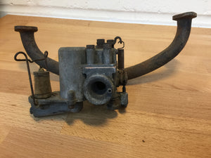 Vintage Carburettor and inlet manifold