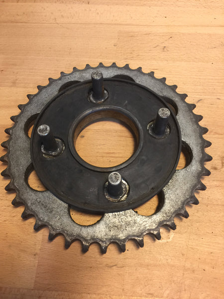 Honda CB250N Superdream rear sprocket assembly