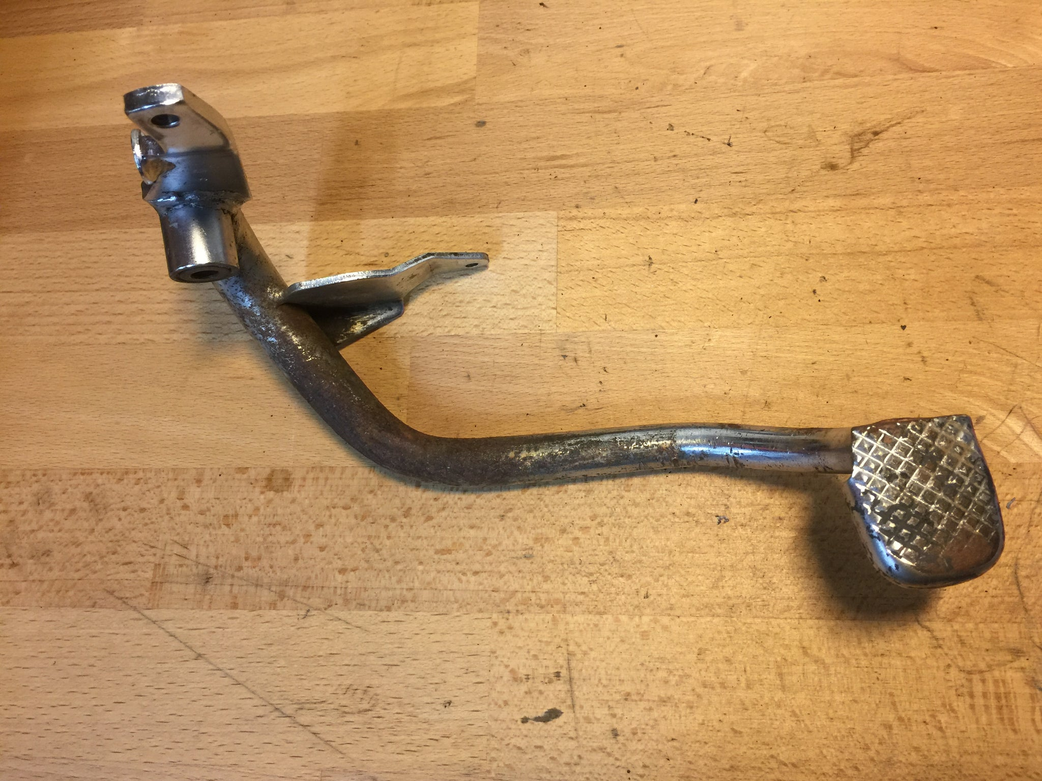 Honda CB250N Superdream rear brake foot lever