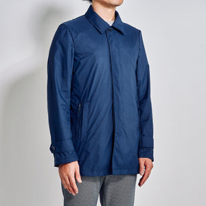 Travel Coat / Kiel Navy Blue