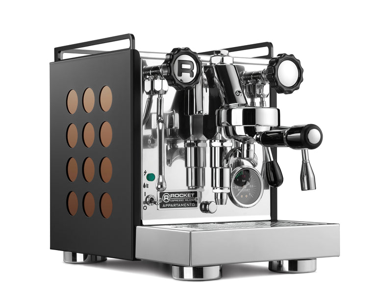 Rocket Espresso Appartamento – Black Powdercoat [Pre-order]