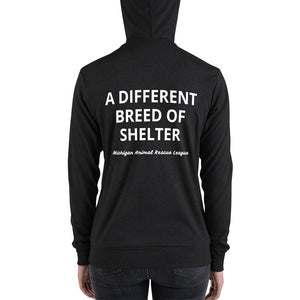 """A Different Breed of Shelter"" Lightweight Unisex Hoodie"