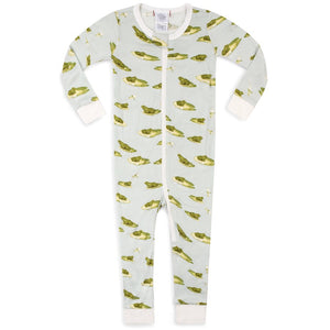 Load image into Gallery viewer, Milkbarn Zipper Pajama
