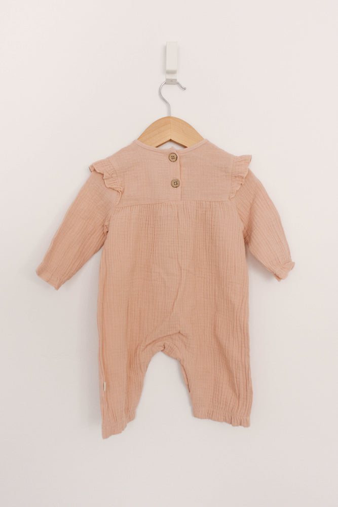 Load image into Gallery viewer, Baby Muslin Jumpsuit