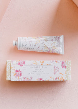 Lollia Breathe Shea Butter Handcream