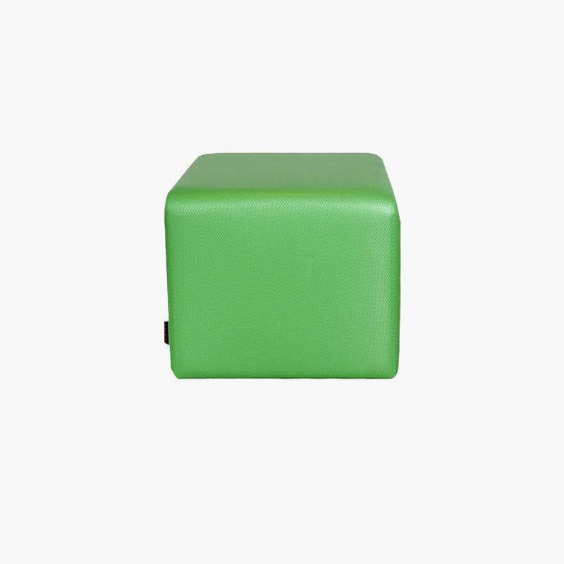 Square Pouf in Leatherette