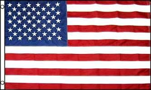 USA Embroidered Flag 10x15ft