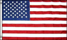 Load image into Gallery viewer, USA Embroidered Flag 5x8ft
