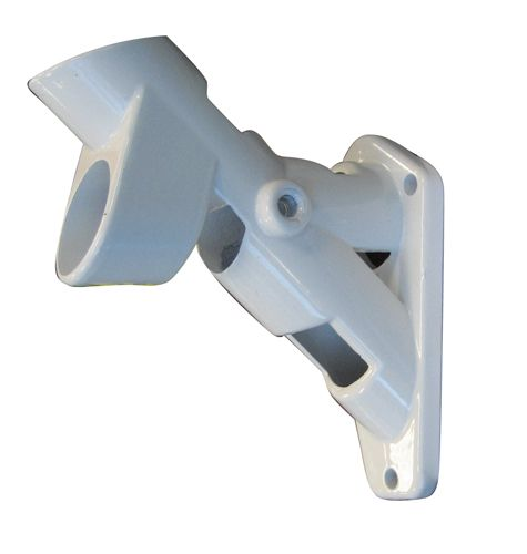 2-Position Aluminum Bracket (White)