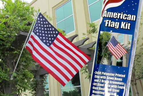 American Flag and Pole Kit (Residential)