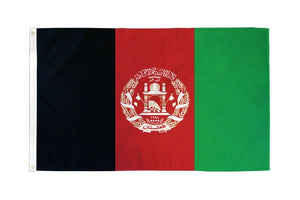 Afghanistan 3x5ft Poly Flag