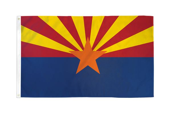 Arizona 3x5ft Poly Flag