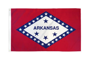 Arkansas 3x5ft Poly Flag