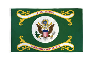 US Army Retired 3x5ft DuraFlag