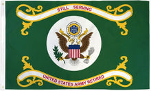 Load image into Gallery viewer, US Army Retired 3x5ft DuraFlag