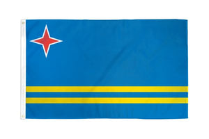 Aruba 3x5ft Poly Flag