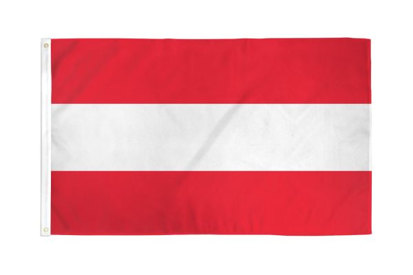 Austria 3x5ft Poly Flag