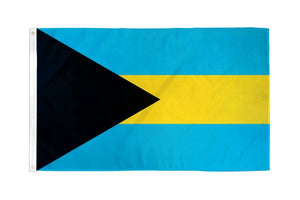 Bahamas 3x5ft Poly Flag
