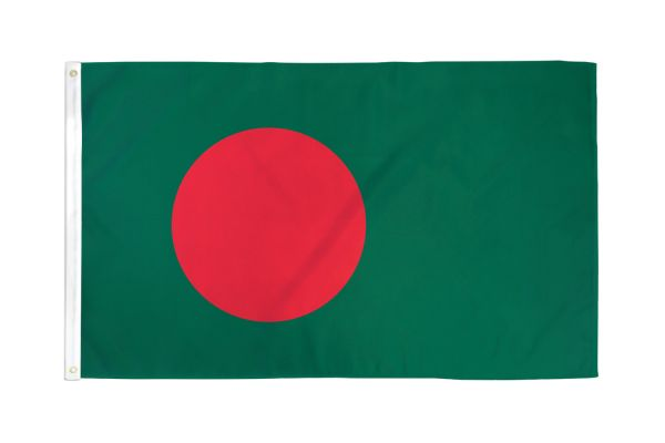 Bangladesh 3x5ft Poly Flag