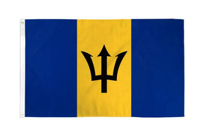 Barbados 3x5ft Poly Flag