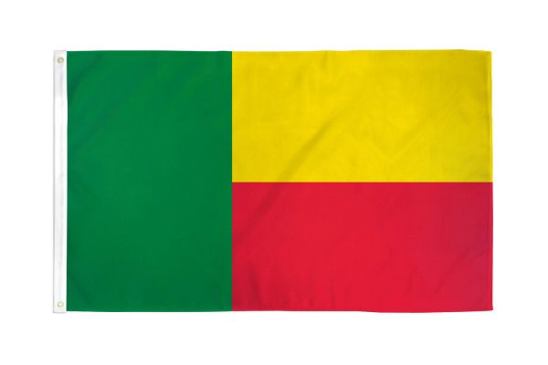 Benin 3x5ft Poly Flag
