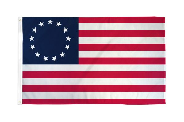US Betsy Ross 3x5ft Poly Flag