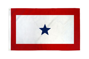 Blue Star Service 3x5ft Poly Flag