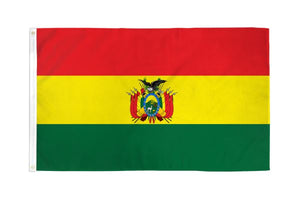 Bolivia 3x5ft Poly Flag