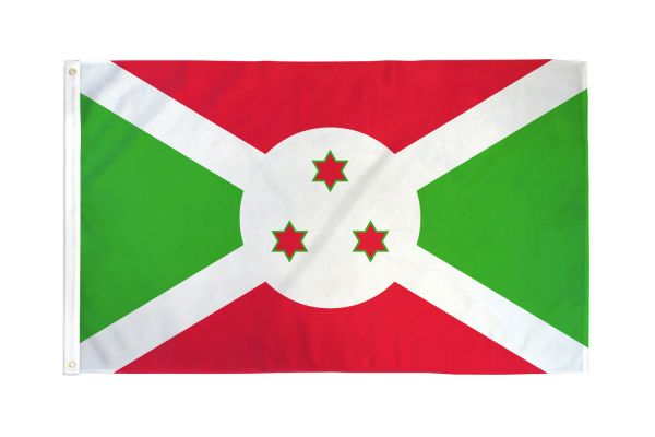 Burundi 3x5ft Poly Flag