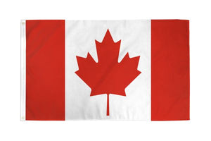 Canada 3x5ft Poly Flag