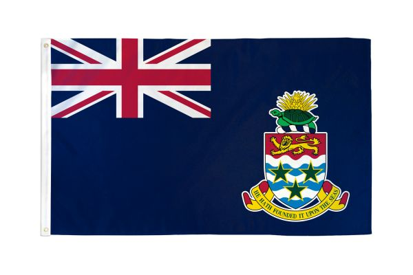 Cayman Islands 3x5ft Poly Flag