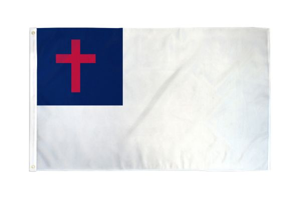 Christian 3x5ft Poly Flag