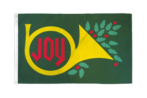 Christmas Joy Flag 3x5 Poly