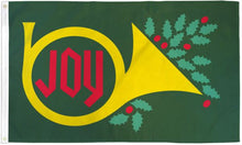 Load image into Gallery viewer, Christmas Joy Flag 3x5 Poly