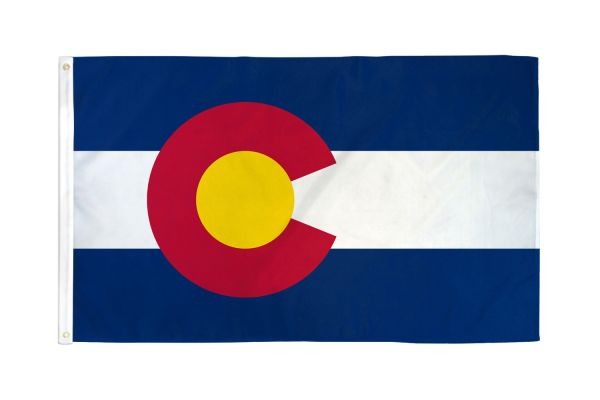 Colorado 3x5ft Poly Flag