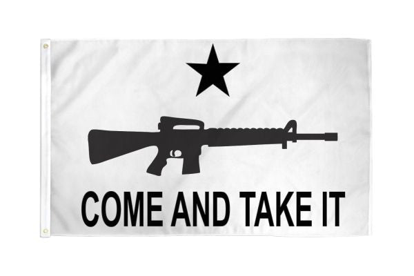 Come and Take It (Rifle) 3x5ft Poly Flag